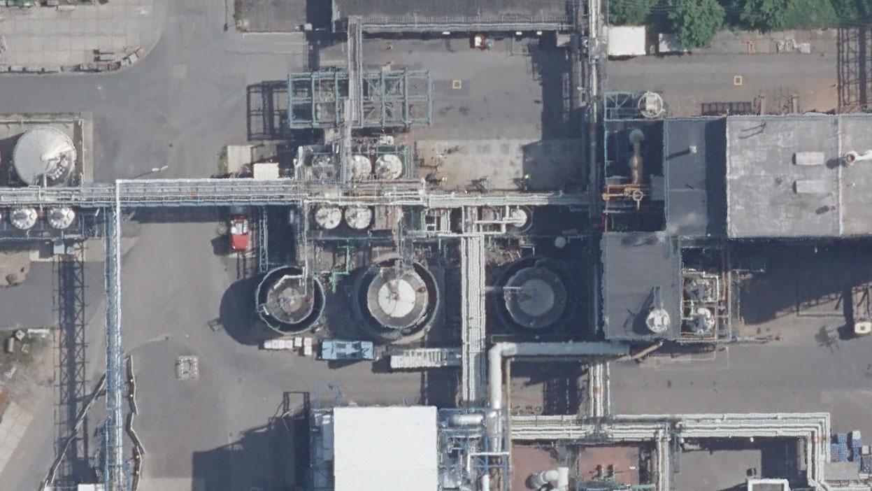 Das Tanklager der Sonderabfallverbrennungsanlage im Detail