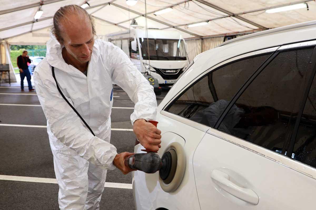Reinigung von Fahrzeugen